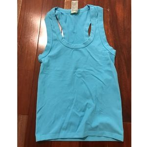 Made in Italy Of Benetton Tank blue one size